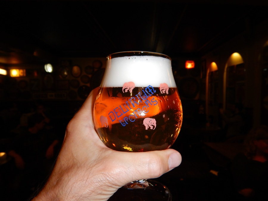 Nightcap at the Delirium Tremens Club