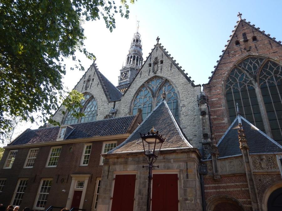 Oude Kerk, oldest building in Amsterdam (1306)