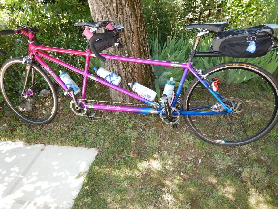 This is the bike on a 2015 trip to France