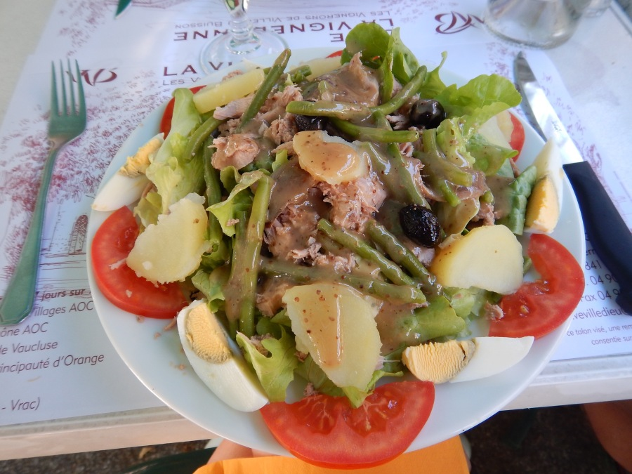 best salad nicoise of the week!