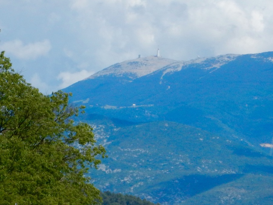 we see magnificent Ventoux from most of our rides