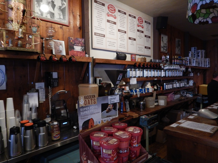Polly's is a coffee and tea mecca!