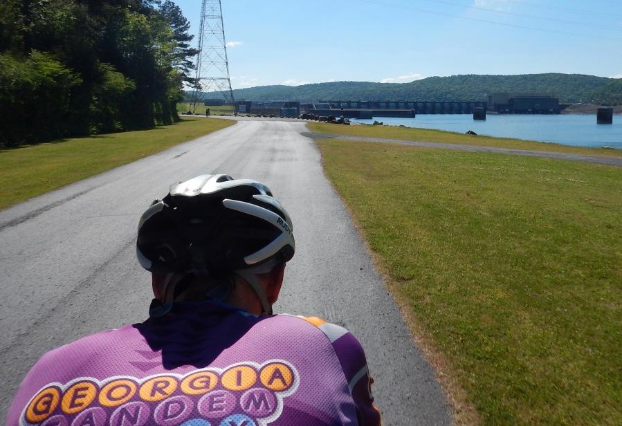 Looking at Gunthersville Dam