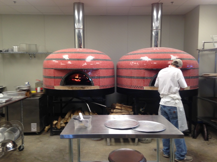 Italian ovens imported from California