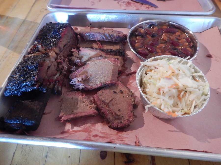 we couldn't resist the brisket! This is award winning, but Roger's is better