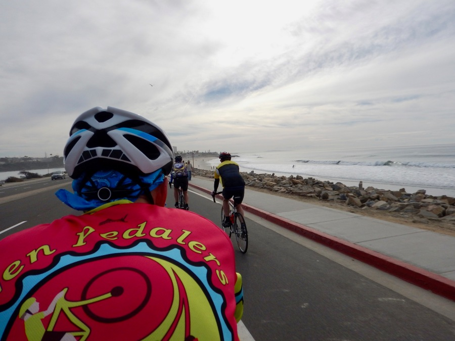 With the group near Carlsbad, CA