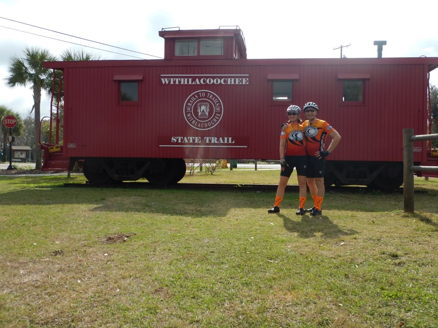 Must take photos with the caboose!